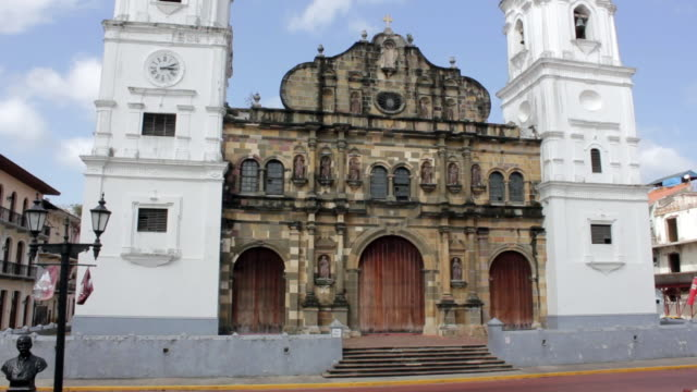 Church in old town Panama City
