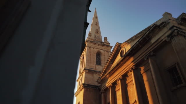 church in valletta, malta at sunset - valletta stock videos & royalty-free footage