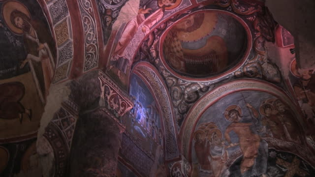 Church Interior, Cappadocia, Turkey