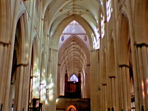 chiesa interno sd - stile del xvi secolo video stock e b–roll