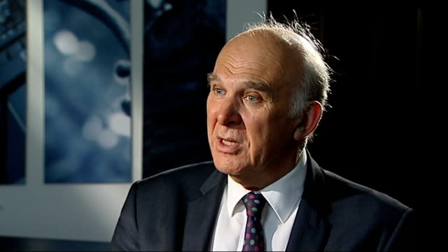 church of england plans to 'compete' wonga out of existence vince cable mp interview sot archbishop of canterbury is absolutely spot on reporter - カンタベリー大主教点の映像素材/bロール