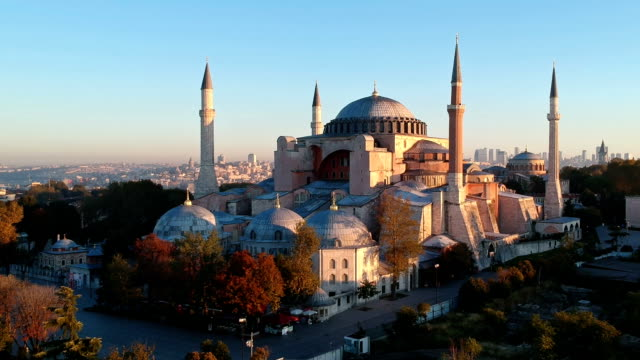 church of hagia sophia, istanbul, turkey - istanbul province stock videos & royalty-free footage