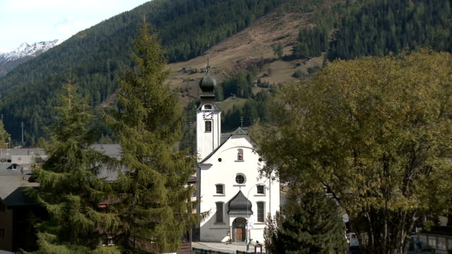 Church of Maria Geburt, Reckingen-Gluringen, Valais, Switzerland