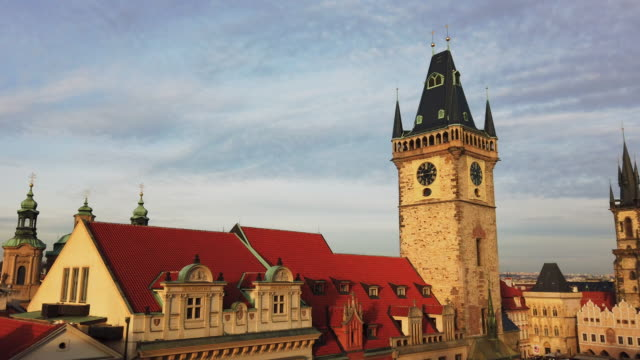 church of our lady before tyn in prague, czech republic - tyn church stock videos & royalty-free footage