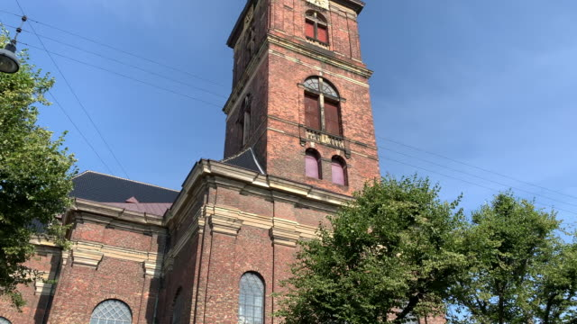 church of our saviour, copenhagen - church stock videos & royalty-free footage