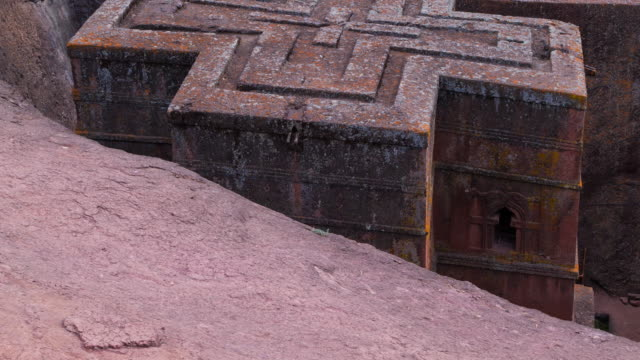 church of saint george in lalibela - ethiopia stock videos & royalty-free footage