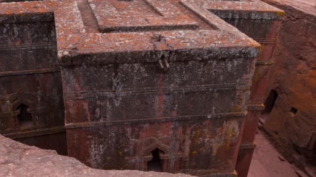 church of saint george in lalibela - 世界遺産点の映像素材/bロール