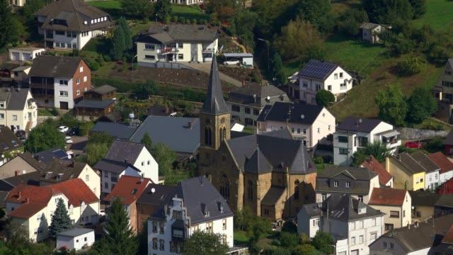 Church of St. Martin in Serrig, Saar Valley, Rhineland-Palatinate, Germany, Europe