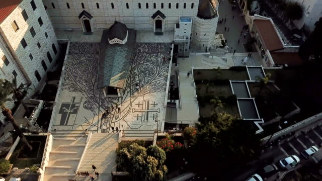 Church of the Annunciation, Nazareth/ Aerial