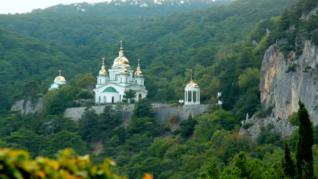 Church of the Holy Archangel Michael in Oreanda, Crimea.