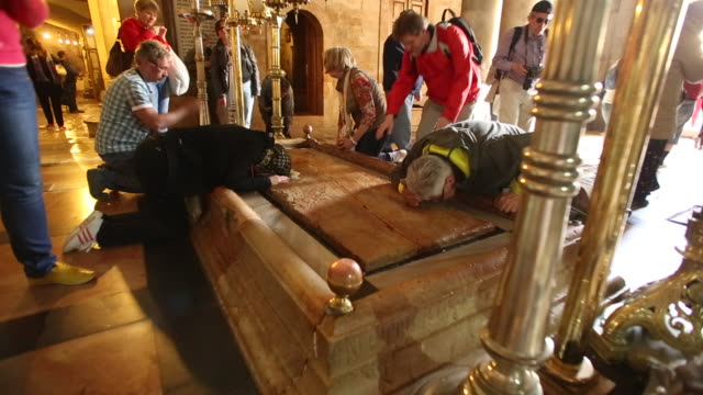 church of the holy sepulchre - jerusalem 2 - religion stock videos and b-roll footage