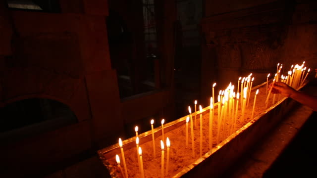 church of the holy sepulchre - jerusalem 3 - resurrection religion stock videos & royalty-free footage