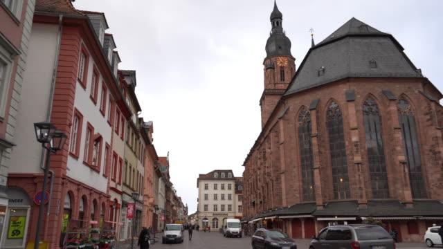 聖霊教会(ハイデルベルク) - ハイデルベルク点の映像素材/bロール