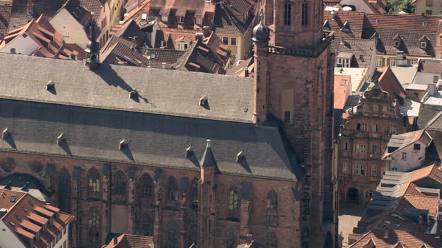 church of the holy spirit - heidelberg castle stock videos & royalty-free footage