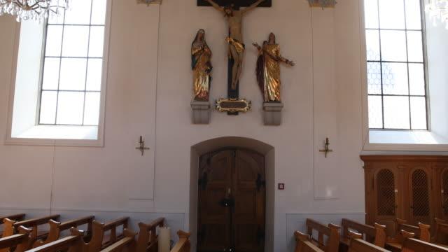 Church of the parish community centre St. Martin in Baar, Switzerland