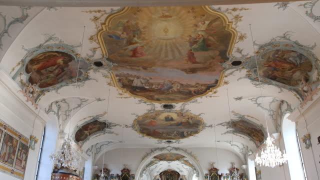 church of the parish community centre st. martin - christian ender stock-videos und b-roll-filmmaterial
