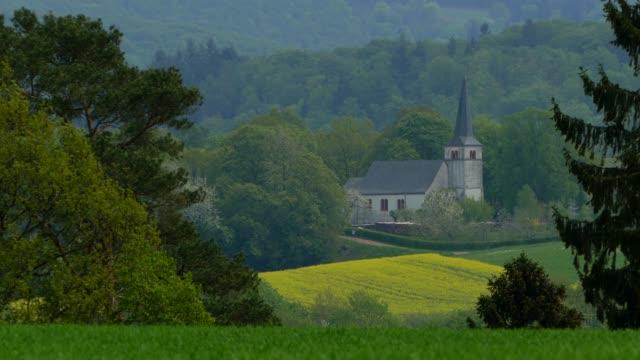 Church St. Johannes near Kastel-Staadt, Saargau, Rhineland-Palatinate, Germany, Europe