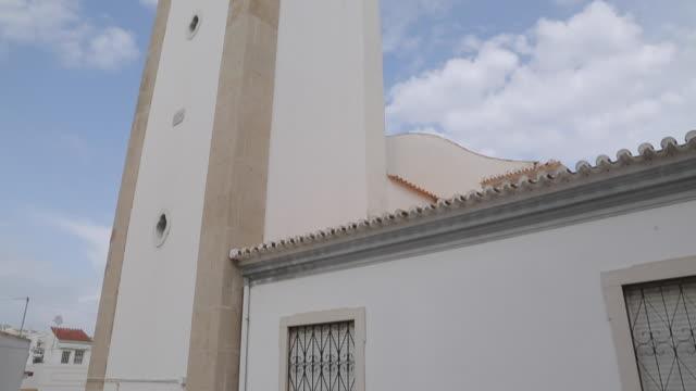 Church Steeple, Albufeira, Algarve, Portugal, Europe