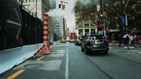 vidéos et rushes de church street, lower manhattan - new york city