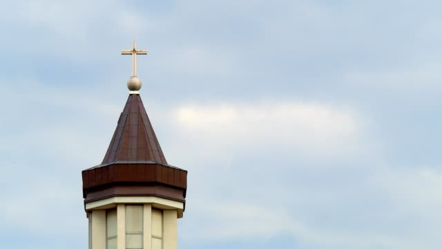 church tower - eastern european culture stock videos & royalty-free footage