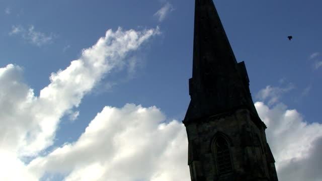 vídeos y material grabado en eventos de stock de iglesia - chapitel