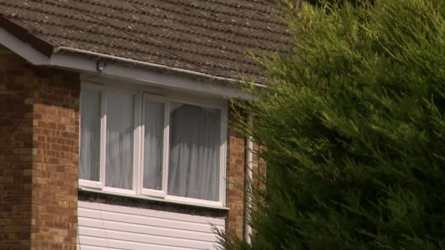 Church warden Benjamin Field found guilty of murdering university lecturer Peter Farquhar ENGLAND Buckinghamshire Maids Moreton EXT General views of...