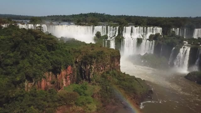 chutes d'iguazú, argentine - argentina stock videos & royalty-free footage