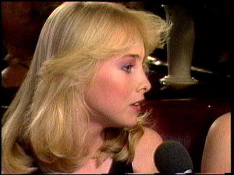 chynna phillips and mother michelle phillips: chynna explains if it would be better or not for her mother to marry again chynna & michelle phillips... - 1981 stock videos & royalty-free footage