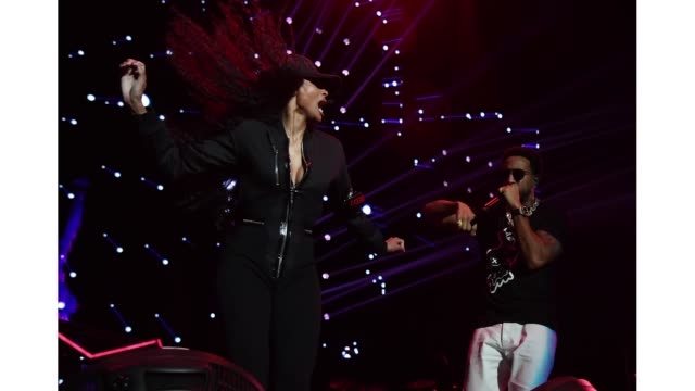 ciara and ludacris perform onstage during bud light super bowl music fest / ea sports bowl at state farm arena on january 31 2019 in atlanta georgia - ciara stock videos & royalty-free footage