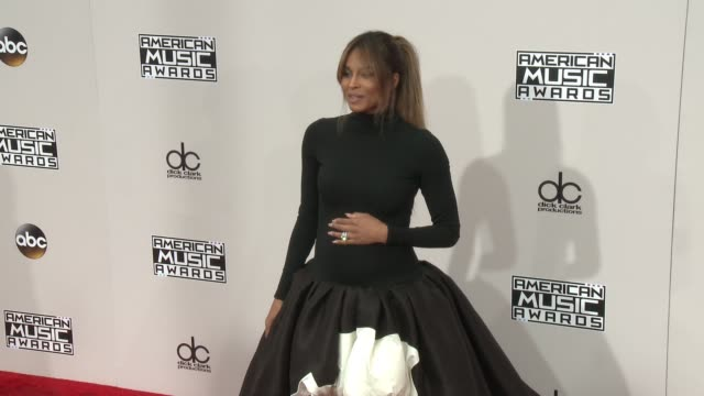 ciara at 2016 american music awards at microsoft theater on november 20 2016 in los angeles california - american music awards stock videos and b-roll footage
