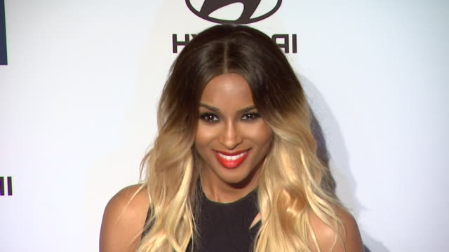 ciara at clive davis and the recording academy's 2012 pregrammy gala and salute to industry icons honoring richard branson on 2/11/12 in beverly... - ciara stock videos & royalty-free footage