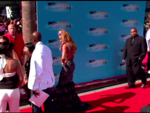 ciara at the 2005 bet awards arrivals at the kodak theatre in hollywood california on june 28 2005 - black entertainment television stock videos & royalty-free footage