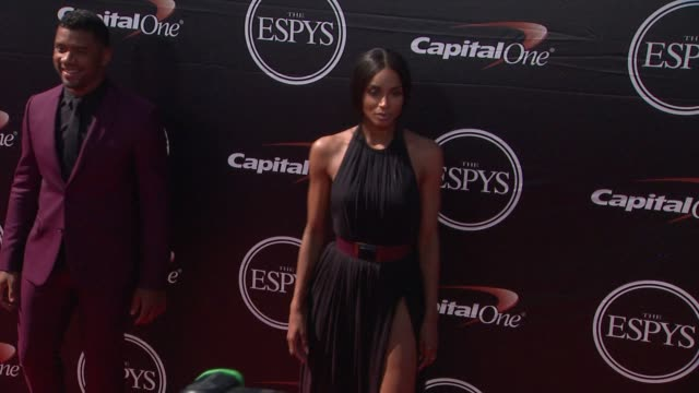 ciara at the 2015 espys at microsoft theater on july 15 2015 in los angeles california - microsoft theater los angeles stock videos and b-roll footage