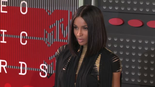 ciara at the 2015 mtv video music awards at microsoft theater on august 30 2015 in los angeles california - microsoft theater los angeles stock videos and b-roll footage