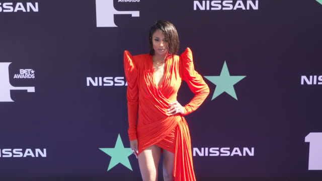 ciara at the 2019 bet awards at microsoft theater on june 23 2019 in los angeles california - black entertainment television stock videos & royalty-free footage