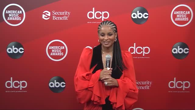 ciara at the 2020 american music awards at the microsoft theater on november 22, 2020 in los angeles, california. - microsoft theater los angeles stock videos & royalty-free footage