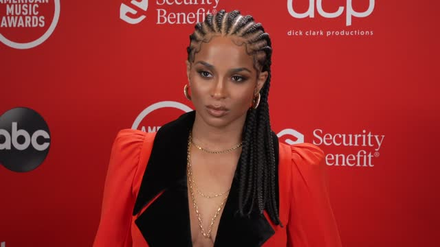 stockvideo's en b-roll-footage met ciara at the 2020 american music awards at the microsoft theater on november 22, 2020 in los angeles, california. - american music awards