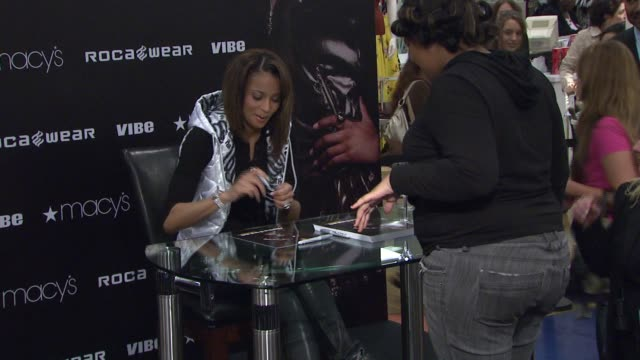 Ciara at the 'I Will Not Lose' Rocawear Campaign at Macy's Herald Square in New York New York on August 22 2007