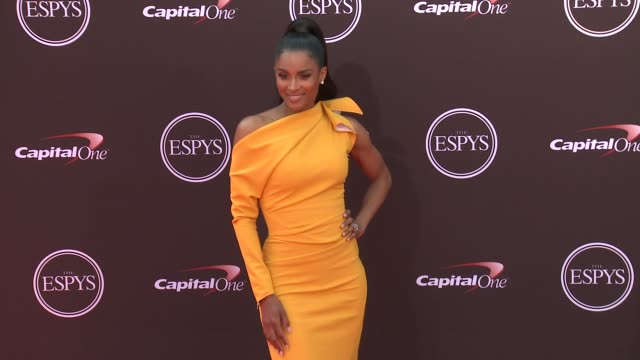 ciara at the the 2018 espys at microsoft theater on july 18 2018 in los angeles california - ciara stock videos & royalty-free footage