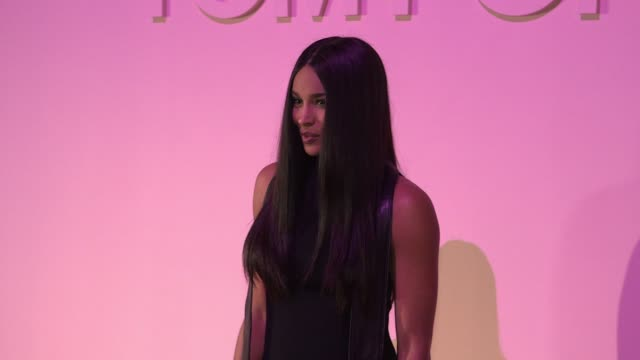 ciara at tom ford new york fashion week spring 2018 at park avenue armory on september 06 2017 in new york city - ciara stock videos & royalty-free footage