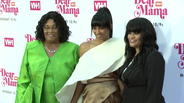 ciara jackie harris gladys at vh1 dear mama a love letter to mom premieres monday may 6th at 10pm et/pt on vh1 in los angeles ca - vh1 stock videos & royalty-free footage