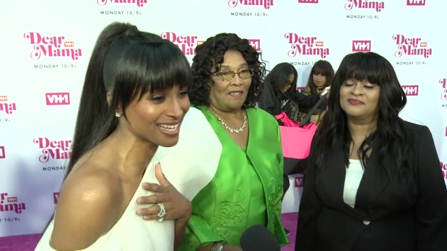 interview ciara on the event and her family at vh1 dear mama a love letter to mom premieres monday may 6th at 10pm et/pt on vh1 in los angeles ca - ciara stock videos & royalty-free footage