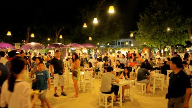 cicada market the famous night market - night market stock videos & royalty-free footage