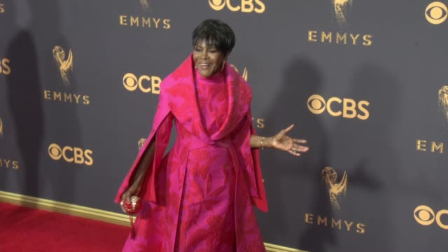 cicely tyson at 69th annual primetime emmy awards in los angeles ca - emmy awards stock-videos und b-roll-filmmaterial