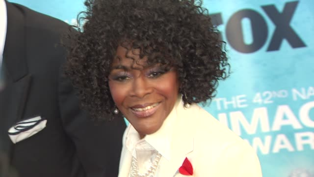 cicely tyson at the 42nd naacp image awards at los angeles ca. - naacp stock videos & royalty-free footage