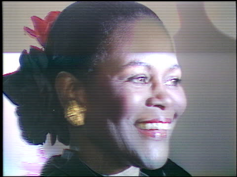 cicely tyson at the afi awards honoring gregory peck at the beverly hilton in beverly hills california on march 9 1989 - gregory peck stock videos and b-roll footage