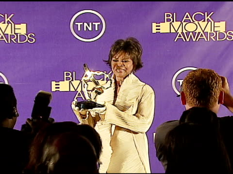 cicely tyson winner distinguished career achievement award at the 2006 tnt black movie awards press room at wiltern theater in los angeles california... - wiltern theatre stock videos and b-roll footage