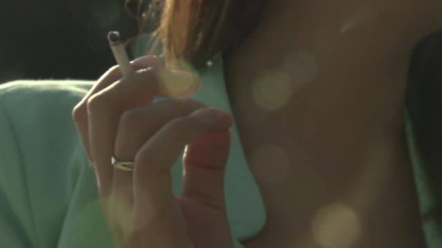 cigarette smoking - tobacco product stock videos & royalty-free footage