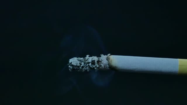 cigarettes burning - light natural phenomenon stock videos & royalty-free footage