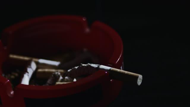 SLO MO Cigarettes in the ashtray